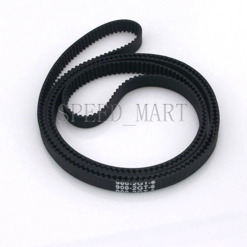 2GT 6mm 3D Printer GT2 Timing Belt Loop Closed 2mm Pitch 102//150//200//500-1350