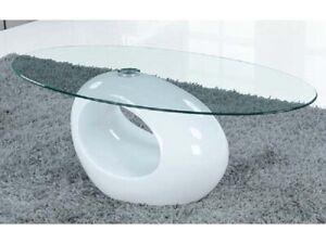 Dettagli su Tavolino salotto soggiorno moderno con vetro modello Tenerife  design raffinato