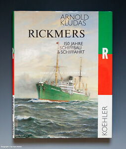 Tolles-Buch-RICKMERS-150-Jahre-Schiffbau-amp-Schiffahrt-um-1984