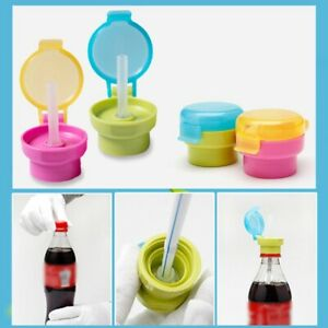 Baby Kids Children Feeding Drink Prevent Choking Straw Bottle Sippy Cup Straw S