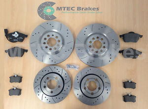 Audi-TT-1-8T-225bhp-99-05-Front-Rear-MTEC-Drilled-Grooved-Brake-Discs-amp-Pads