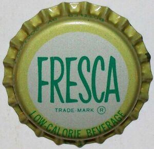 Vintage soda pop bottle cap FRESCA Coca Cola Springfield Missouri cork unused