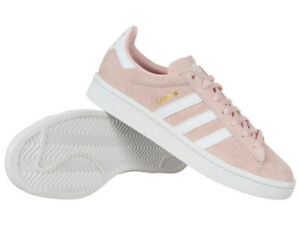 Details about Adidas Campus Womens Pink Suede Sneakers Casual Shoes Sports  Shoes- show original title