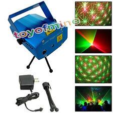 DJ Disco Stage de lumière R & G de mini-Parti éclairage laser Afficher Branchez