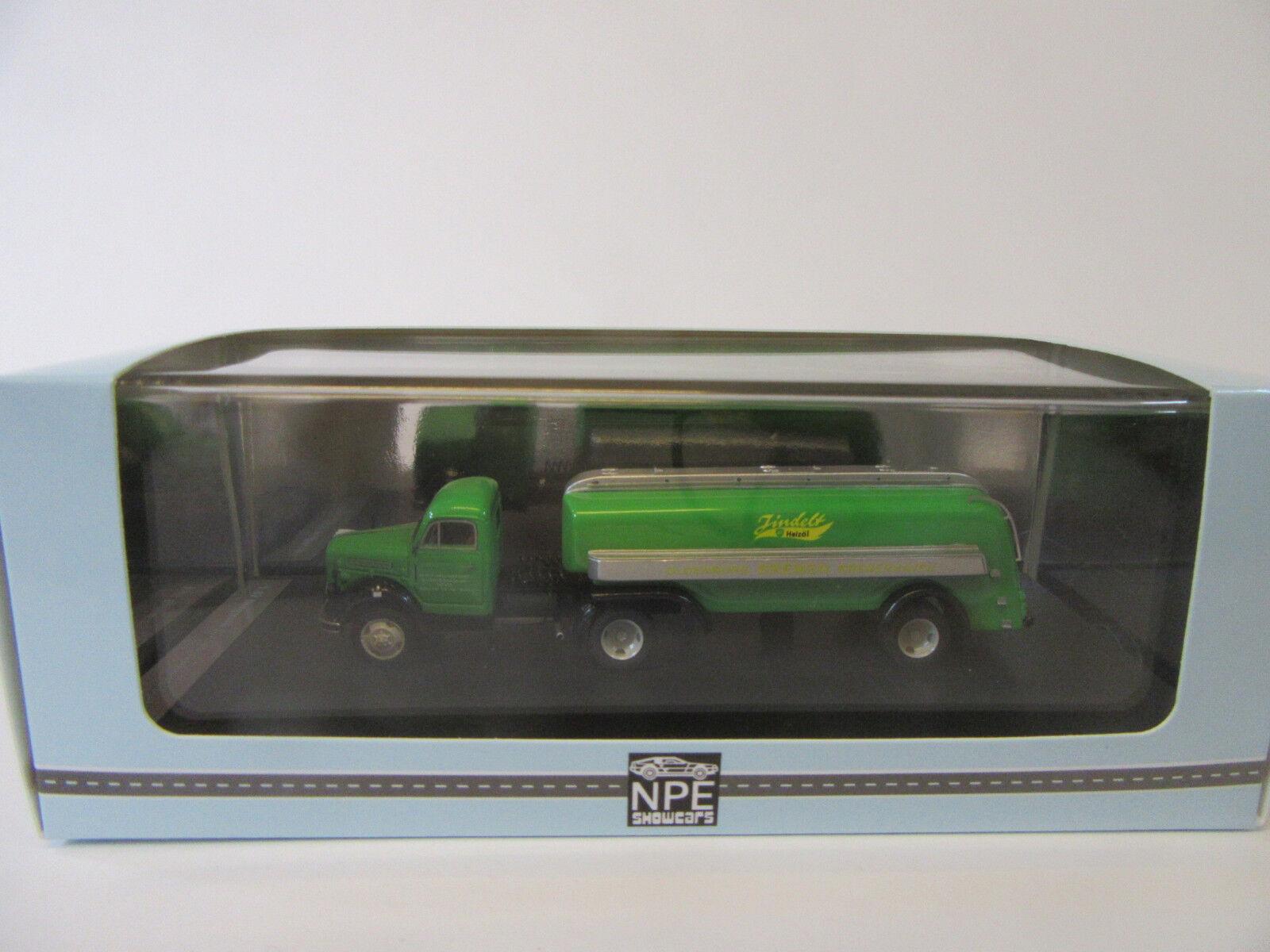 Npe Borgard Tank Truck Bp 99075 1 87 Finshed Model