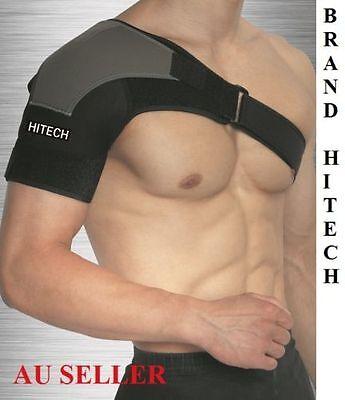 New HITECH Shoulder Support Brace Compression Heat Band Brace Shoulder Strap