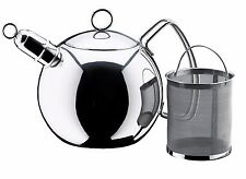 WMF 18/10 Stainless Steel Whistling Tea Ball Kettle With Infuser, 1.6 Qt / 1.5 L