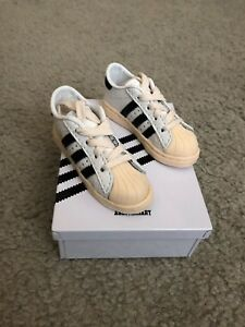 brand new de468 c240f Details about Adidas Mini Museum Shoes Adi Dasler Limited Edition Superstar  Shelltop Shelltoe