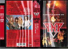 TNT Forever Shine On-Japan Live JAPAN VHS VIDEO PHVR-2502 w/INSERT