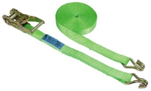 3712 Ratschen Zurrgurt 2 teilig 6m 25mm grün Ratschenzurrgurt 1.500kg Spanngurt