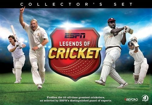 1 of 1 - ESPN - Legends Of Cricket (DVD, 2015, 4-Disc Set)