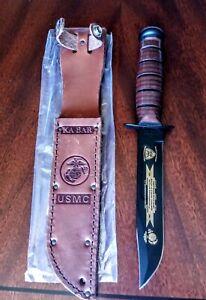 KaBar 1217 fighting knife USMC 2002 #60 of 100 3rd recon 1961-1971 Vietnam