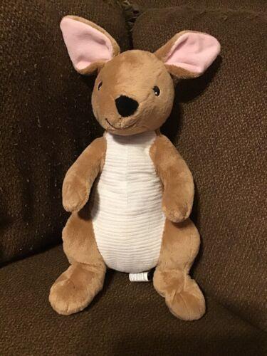 """Kohls Cares Kangaroo Plush Curious George Visits Zoo 16/"""" Plush brown"""