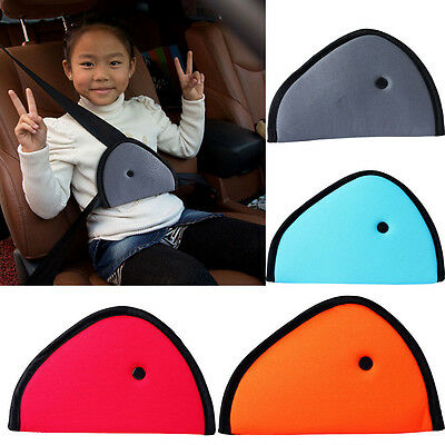 Adjustable Toddler Harness Seat Belt Clip Car Safety Cover Strap Pad Children