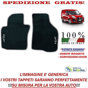 Tappeti Fiat Doblò Van serie 2 Scegli Colori e Qualità Tappetini Auto Personal