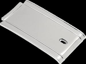Drag Specialties chrome dash tank panel 85-99 Harley Softail FXST FLST FXWG