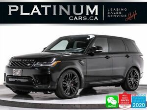 2018 Land Rover Range Rover Sport Supercharged ,V8 ,518HP ,REAR ENTERTAINMENT ,PANO