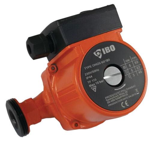 Ibo Ohi 25-60//180 Acqua Calda Circolazione Pompa Riscaldamento Centralizzato