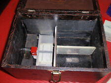 VINTAGE PHOTO SLIDE HOLDERS AND  CASE AIREQUIPT