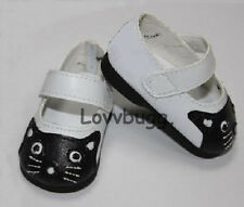 """Kitty Cat Shoes for 18"""" American Girl Doll Clothes Bitty Baby  Widest Selection!"""