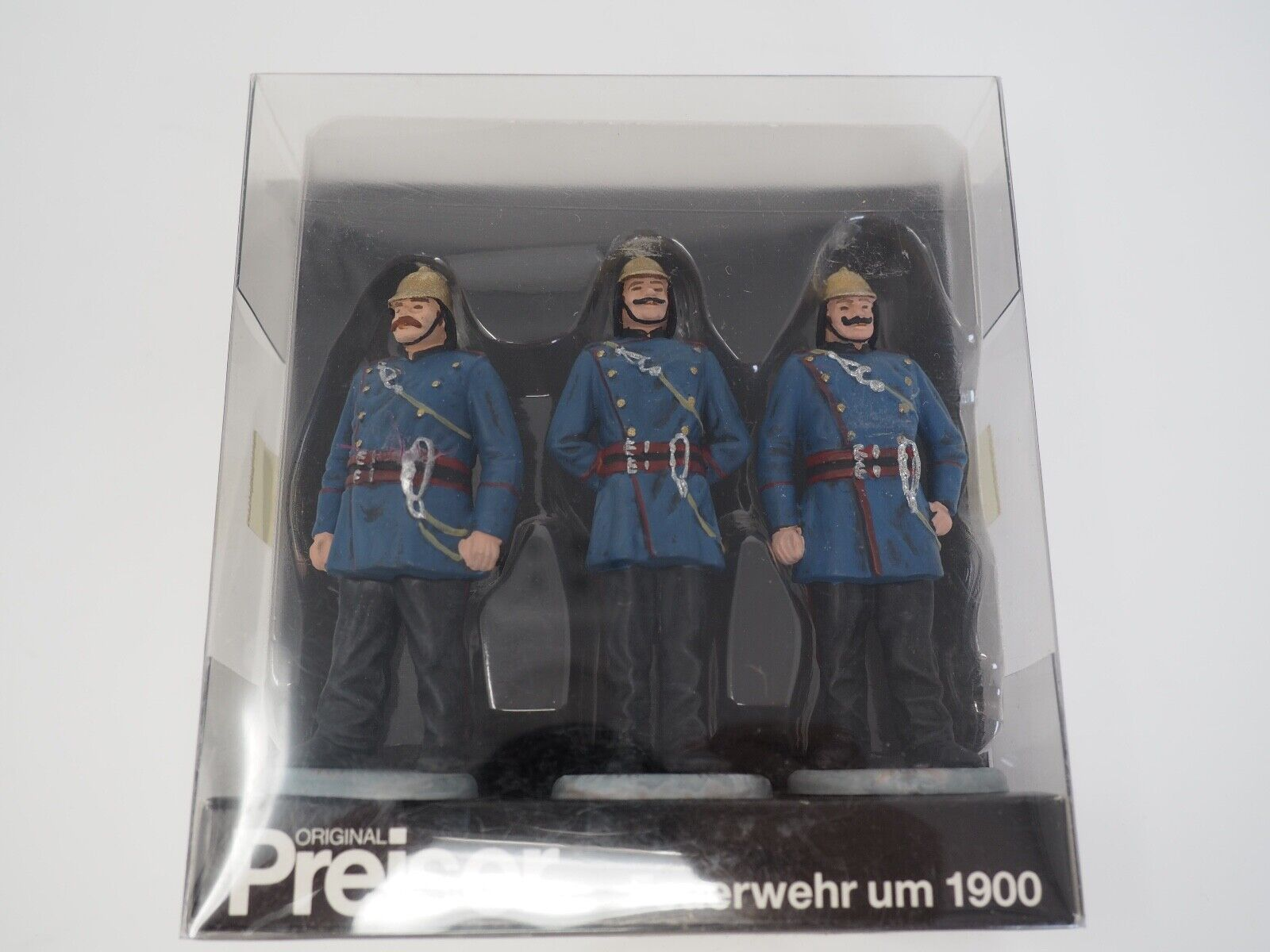Preiser 1 24 7554 POMPIERS de 1900 pompiers
