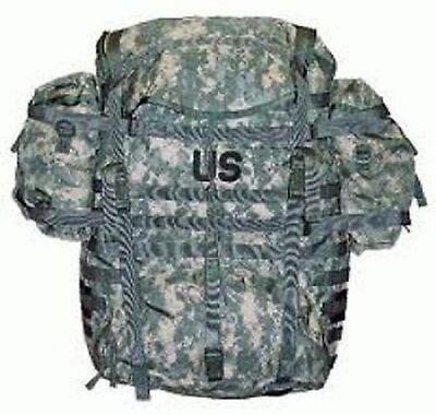 Us Army Molle Ii Ucp Acupat Acu Digital Camo Trekking Rucksack Pack Large äSthetisches Aussehen