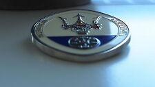Classic Maserati grill badge Car club emblem Bora Spyder Biturbo Quattroporte