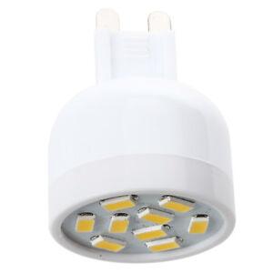 4X-Lampe-G9-3W-9LED-Spotlicht-Warmweiss-Leuchtmittel-5630SMD-Strahler-1-PT