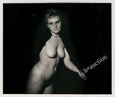NICE SMALL NUDE STUDY / KLEINE NETTE AKTSTUDIE Aktfoto * Vintage 70s Photo
