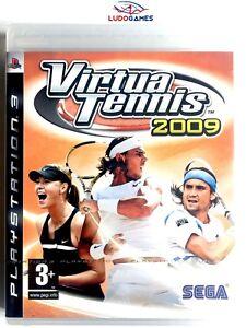 Virtua-Tennis-2009-PS3-PLAYSTATION-Neuf-Scelle-Retro-Scelle-Nouveau-Pal-Spa