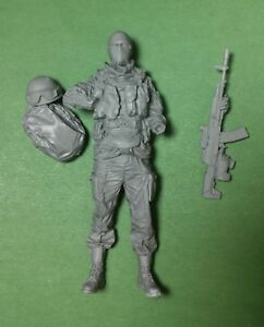 american soldier tanker Fury scale 1:16 resin kit 120 mm resin kit