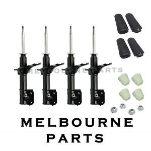 4 HYUNDAI EXCEL X3 FRONT & REAR  GAS STRUT SHOCK ABSORBERS 06/97-06/2000