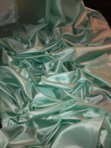 """1 MTR TEAL 100/% POLYESTER LINING FABRIC...45/"""" WIDE"""