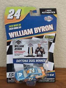 2020 Wave 5 William Byron Axalta Daytona Duel Win 1 64 Nascar Authentics Diecast Ebay