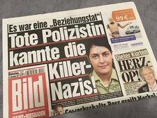 Bildzeitung vom 22.11.2011 * Geschenk zur Geburt * Michele Kiesewetter