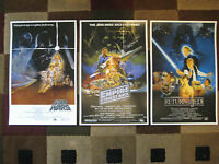 Star Wars Trilogy (11 X 17) Movie Collector's Poster Prints ( Set Of 3 )