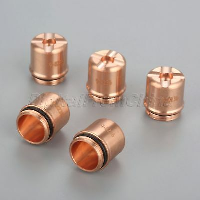5Pk 9-8236 Plasma Torch Shield Cap fit for SL60 SL100 70A-100A Consumables Part