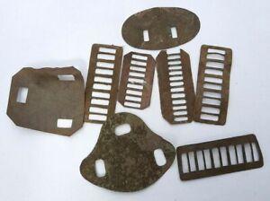Lot-plaques-support-de-cap-badges-et-shoulder-titltes-de-fouille