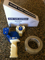 Uline Industrial Tape Dispenser H-150 With 1 Roll Of Tape Get Ready 4 Holidays