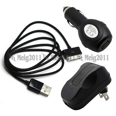 AC Adapter Wall Charger USB Cable for Samsung Galaxy Tab P30 SGH-i987 SCH-i800