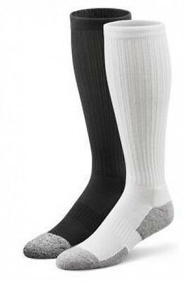Dr Comfort Diabetic Knee Length Socks Supports Shape to Fit Seamless Unisex NEW