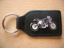 Schlüsselanhänger Ducati Scrambler schwarz black Motorrad Art. 1274