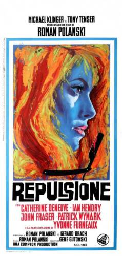 REPULSION Movie POSTER 30x18 Catherine Deneuve Yvonne Furneaux Ian Hendry John