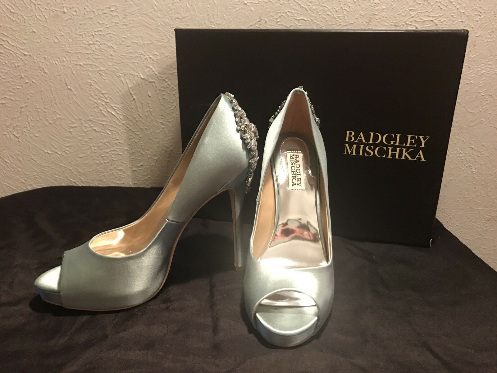 BADGLEY MISCKA SZ 8 Kiara Platform Pump Shoes