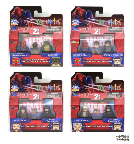 Marvel Minimates Series 46 Amazing Spider-Man Movie Complete Set