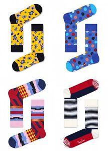 Happy-Socks-4-Paar-Damen-Socken-Groesse-36-40-UVP-36-HSF3010