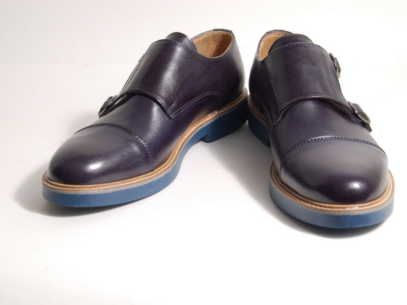 Acc Hand Made, Italian shoes Buckles Monkstrap 9001