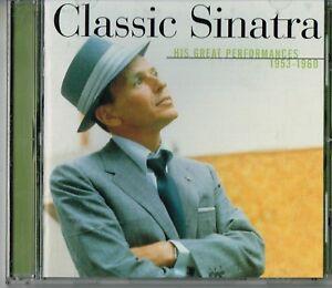 Frank-Sinatra-Classic-Sinatra-His-Great-Performances-1953-1960-CD-US-Singer-2000