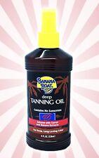 Banana Boat Dark Deep Tanning Tan Oil - NO SPF - Carrots Extract Bronze - 8 OZ
