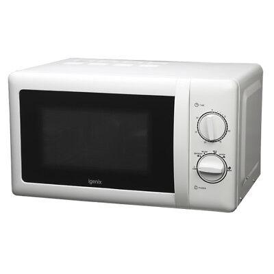 Igenix Ig2083 800w Manual Microwave With Stainless Steel